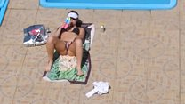 Flagra safada masturbando Piscina Flagged Girl masturbate on the pool