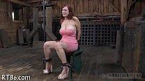 Agony for babe's nipples Vorschaubild