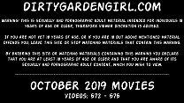 Download video bokep Dirtygardengirl OCTOBER 2019 NEWS: fisting prol... 3gp terbaru