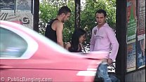 Download video bokep A big natural breasted brunette in public stree... 3gp terbaru