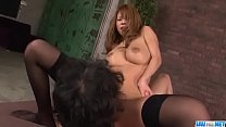 Japanese milf with huge tits, Haruka Sanada, loves fucking hard - More at javhd. صورة