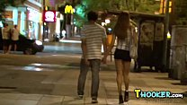 Dude finds a tranny on the street and brings he...