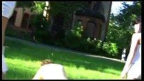 2 Amateur Girls in Femdom Action Outdoor in High Heels - Trampling, Footworship Vorschaubild