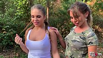 Hot sluts Alessandra Jane and Lana Sins had a great time together