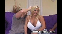 MILF Stacked With Huge Rack Banged
