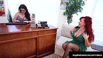 Doctor Sex Pott Angelina Castro StrapOn Drills Sexy Vanessa!