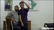 Son Hypnotizes Dad To Fuck