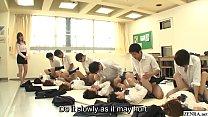 11243 JAV synchronized schoolgirl missionary sex led by teacher preview