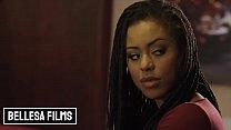 Pretty babe ebony (Kira Noir) riding the bartender dick - Bellesa
