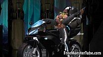 Sexy 3D babe from Tron enjoying getting fucked harderted-high 2