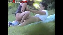 Teen Couple fucking in public park