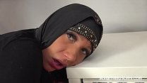 Naughty Muslim chick gets some rod in her