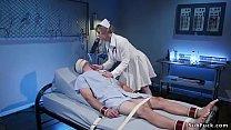 Download video bokep Milf nurse gives dick torment to patient 3gp terbaru