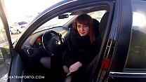 Katrin Porto - Flashing In Car And Shopping Nude thumbnail