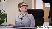 (Lennox Luxe) Office Girl With Round Big Boobs Enjoy Hard Sex movie-20