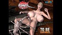 3D Comic: Spermaliens. Episodes 4-5 video