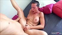 German MILF Texas Patti Eye Rolling Orgasm at User Sex Date