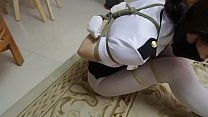 bondage asian policewoman