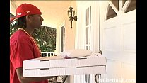 Upper class black hoe fucks pizza guy preview image