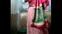 Indian desi village aunty bathing final scene