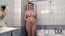 LaTaya Roxx Soaps Up Her Natural 36DD Juggs In ... Thumbnail