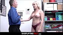 Big Tits PAWG MILF Dana Dearmond Caught Shoplifting b. Food Fucked By Officer