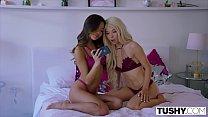 TUSHY Kenzie Reeves and Vina Sky Love To Gape Together! - 69VClub.Com
