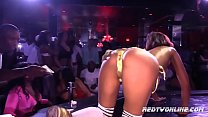 Porn Star Skin Diamonds Performing in a Strip Club