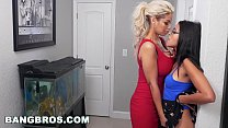 BANGBROS - Big Booty Masseuse Skyler Luv Wrecked By Black Dick (mc13938) preview image
