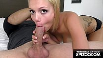 Hot Spanish Blonde Daniela Dadivoso Loves Big Cock - Spizoo