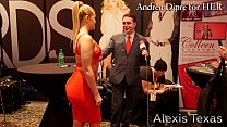 Alexis Texas shows her ass for Andrea Diprè