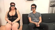 A BLIND DATE with Sandra, a 21 years old ENORMOUSLY TITTED gal
