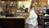 Slut in wedding dress railed by pawn guy thumbnail