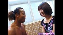 Miyuki Hashida fingered and screwed big time