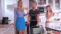 Marica Chanelle Has a Plumber Lay Pipe in Her D...