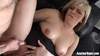 Busty MILF takes brother-in-law´s cock deep!