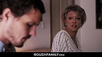 Mom Comforts her Son - RoughFamily.com