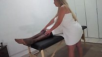 NEW GIFTED MASSAGE ENDED IN FUCK ON THE MACA