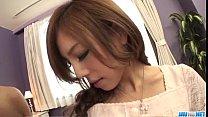 Strong pleasure for peachy tits Asian model Ramu Nagatsuki thumbnail