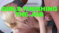 Dane Jones Girls finishing the job cumshot compilation handjobs blowjobs