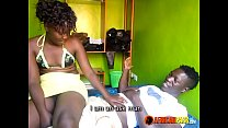 Black Horny Amateur Teen Couple First Time image