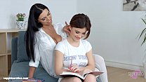 Kyra Queen and Veronica Moore in lesbian scene by Sapphic Erotica tumblr xxx video