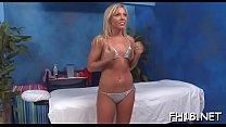 Stunning nude teen rides knob and gets big o
