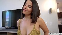 Big ass Latina MILF Laserina rides her stepsons meaty dick for the last time.She loves it when he slides his cock on her wet pussy.