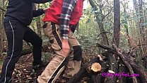 Milf buggered by a lumberjack enjoys and gets filled