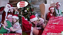 Christmas Family Orgy Ft Charlotte Sins, Quinton James, Rion King