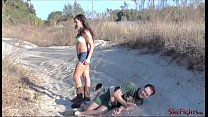 Finishing Off PC Guy - Ballbusting and Beatdown