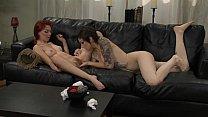 Redhead Goth Lesbian on CamSlutsHD.com