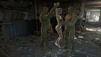 Fallout 4 Supermutans threesome