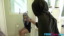 14302 Violet Myers In Childbearing Hijab Hips preview